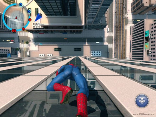 iPhone、iPad 或 iPod 版The amazing Spider-man 2游戏截图。