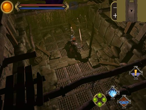 Screenshots vom Spiel The barbarian für iPhone, iPad oder iPod.