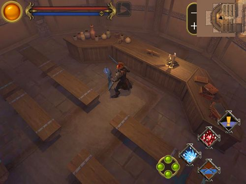 Screenshots do jogo The barbarian para iPhone, iPad ou iPod.