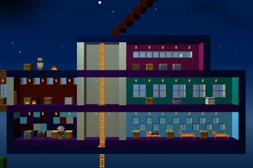Игра The blockheads для iPhone
