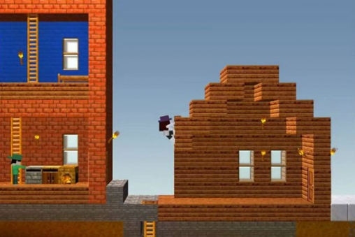 Screenshots vom Spiel The blockheads für iPhone, iPad oder iPod.