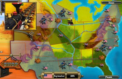 Descarga gratuita de The Bluecoats: North vs South para iPhone, iPad y iPod.