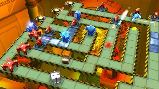 Screenshots of the The bot squad game for iPhone, iPad or iPod.