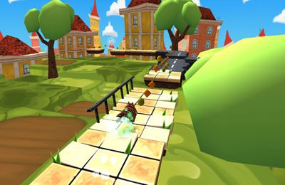 Screenshots vom Spiel Jewel up für iPhone, iPad oder iPod.