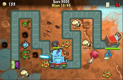 Download The Creeps! iPhone free game.