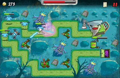 Screenshots of the The Creeps! game for iPhone, iPad or iPod.