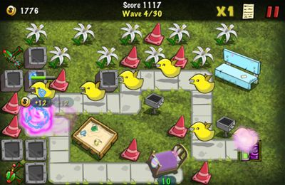 Screenshots vom Spiel The Creeps! für iPhone, iPad oder iPod.