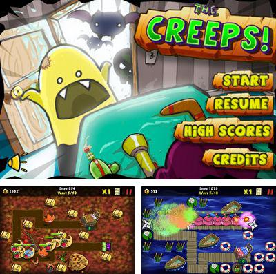 In addition to the game Magic flute by Mozart for iPhone, iPad or iPod, you can also download The Creeps! for free.