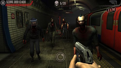 Écrans du jeu The dead: Beginning pour iPhone, iPad ou iPod.
