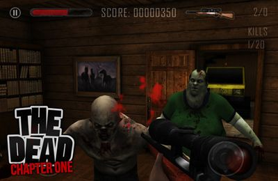 Capturas de pantalla del juego THE DEAD: Chapter One para iPhone, iPad o iPod.