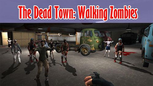 The dead town of walking zombies