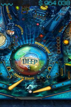Free The Deep Pinball download for iPhone, iPad and iPod.