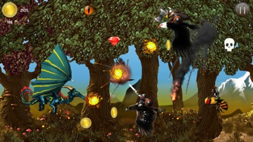 Screenshots of the The desolation of dragons game for iPhone, iPad or iPod.
