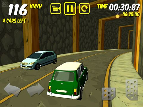 Kostenloser Download von The drive: Devil's run für iPhone, iPad und iPod.