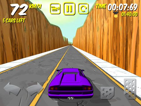 Écrans du jeu The drive: Devil's run pour iPhone, iPad ou iPod.