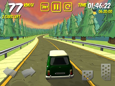 Screenshots vom Spiel The drive: Devil's run für iPhone, iPad oder iPod.