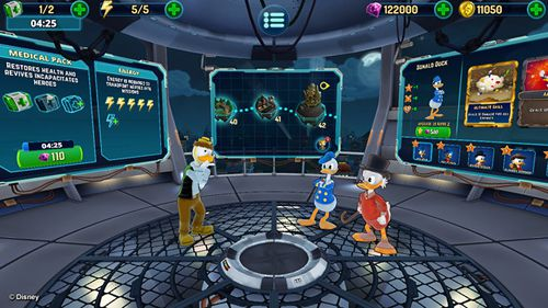 Capturas de pantalla del juego The duckforce rises para iPhone, iPad o iPod.