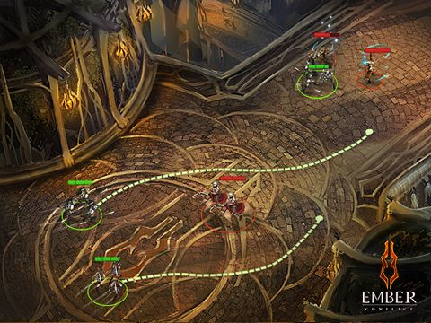 Download The ember conflict iPhone free game.