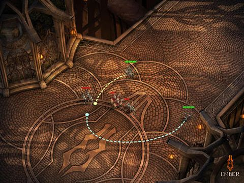 Écrans du jeu The ember conflict pour iPhone, iPad ou iPod.