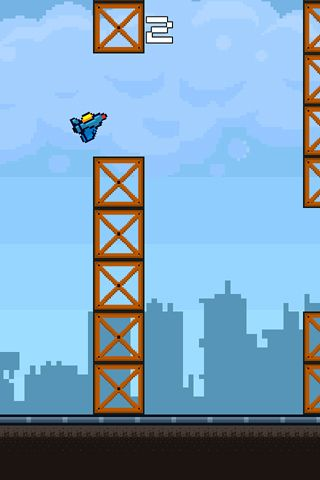 Игра The flight test для iPhone