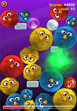 Screenshots of the The Fluffies game for iPhone, iPad or iPod.