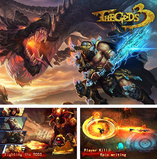 In addition to the game Ninjas - Stolen Scrolls for iPhone, iPad or iPod, you can also download The Gods 3 for free.