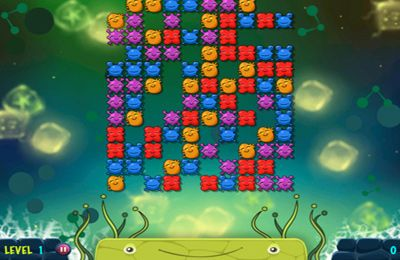 Screenshots of the The Greedy Sponge game for iPhone, iPad or iPod.