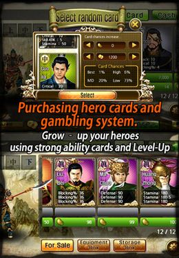Download The Heroes of Three Kingdoms iPhone free game.