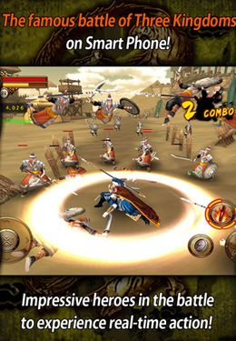 Kostenloser Download von The Heroes of Three Kingdoms für iPhone, iPad und iPod.
