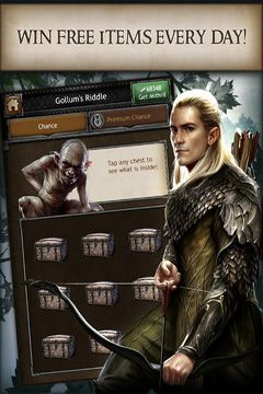 Скачать игру The Hobbit: Kingdoms of Middle-earth для iPad.