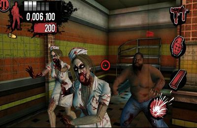 Capturas de pantalla del juego The House of the Dead: Overkill para iPhone, iPad o iPod.