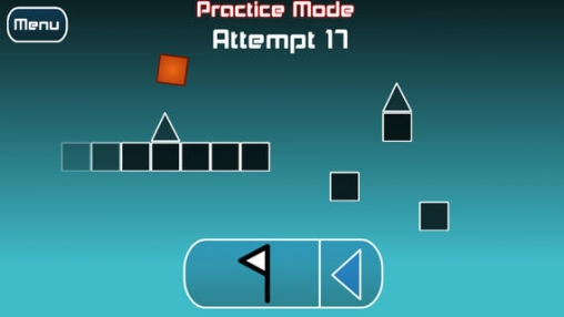 Kostenloser Download von The impossible game für iPhone, iPad und iPod.