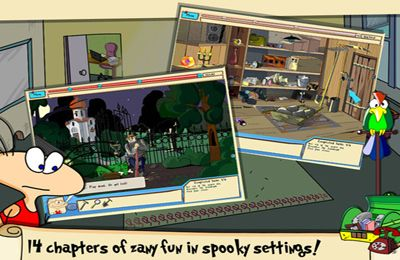 Capturas de pantalla del juego The Jolly Gang's: Spooky Adventure para iPhone, iPad o iPod.