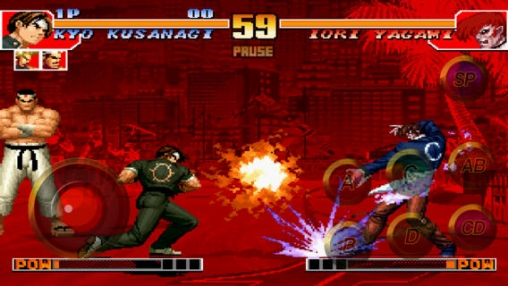 Kostenloser Download von The King of Fighters 97 für iPhone, iPad und iPod.