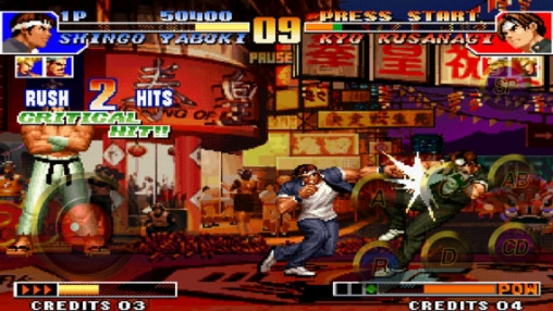 Игра The King of Fighters 97 для iPhone