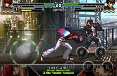 iPhone、iPad 或 iPod 版The King of Fighters-i游戏截图。