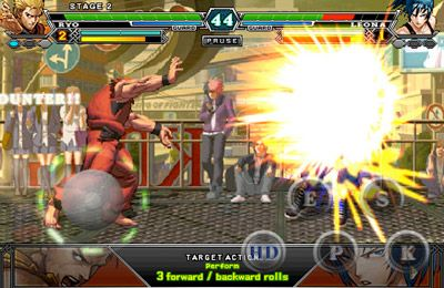Игра The King Of Fighters I 2012 для iPhone