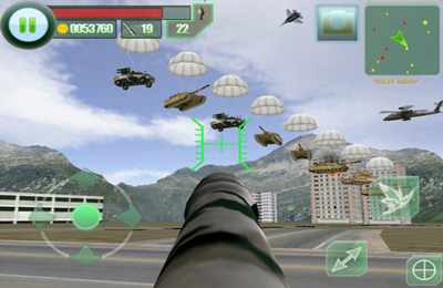 Capturas de pantalla del juego The Last defender HD para iPhone, iPad o iPod.