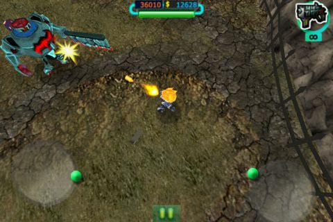 Capturas de pantalla del juego The last stand: Zombie apocalypse para iPhone, iPad o iPod.
