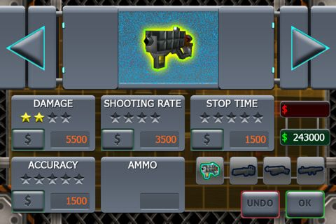Écrans du jeu The last stand: Zombie apocalypse pour iPhone, iPad ou iPod.