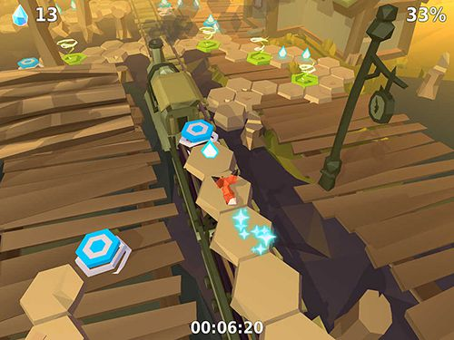 Screenshots of the The little fox game for iPhone, iPad or iPod.