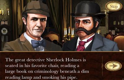 Гра The Lost Cases of Sherlock Holmes для iPhone