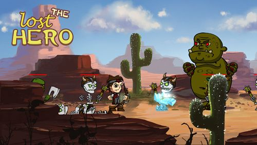 Écrans du jeu The lost hero pour iPhone, iPad ou iPod.