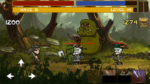 Screenshots of the The lost hero game for iPhone, iPad or iPod.