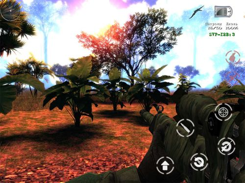 Screenshots of the The lost lands: Dinosaur hunter game for iPhone, iPad or iPod.