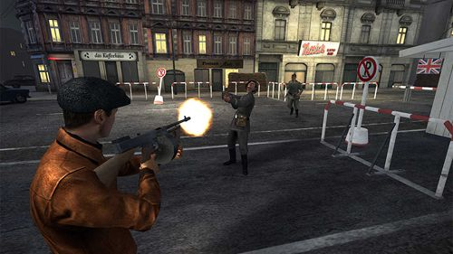 Screenshots vom Spiel The man from U.N.C.L.E. Mission: Berlin für iPhone, iPad oder iPod.