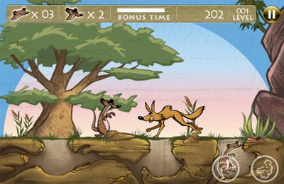 Screenshots of the The Meerkat Muchachos game for iPhone, iPad or iPod.