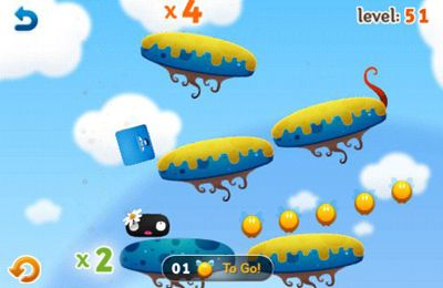 Screenshots vom Spiel The Moonsters für iPhone, iPad oder iPod.