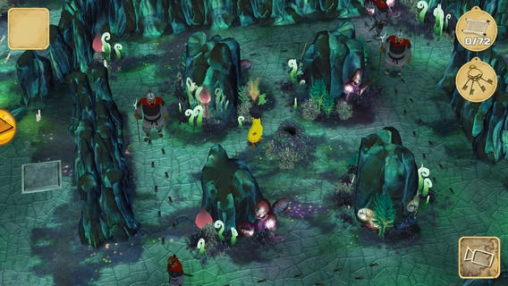 Screenshots of the The Mysterious Cities of Gold: Secret Paths game for iPhone, iPad or iPod.