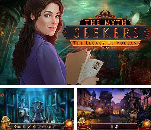 En plus du jeu Le Temple de Anubis pour iPhone, iPad ou iPod, vous pouvez aussi télécharger gratuitement Les chercheurs des mythes: L'héritage du Volcan, The myth seekers: The legacy of Vulcan.